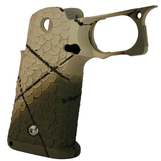 STI 2011 DVC/Dragon Scales Desert Tan/OD Green Grip