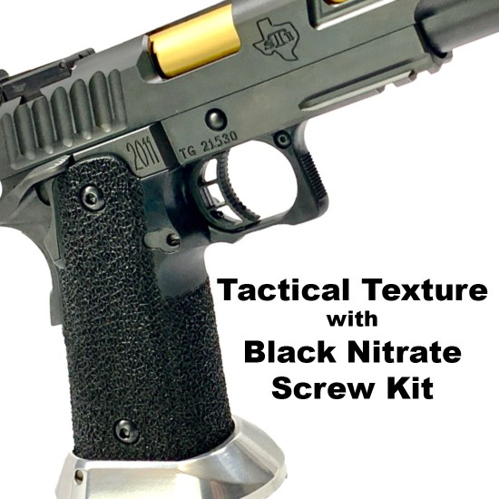 STI 2011 Tactical Black Grip