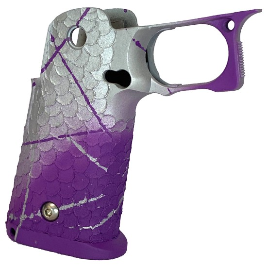 STI 2011 DVC/Dragon Scales Silver/Purple Grip