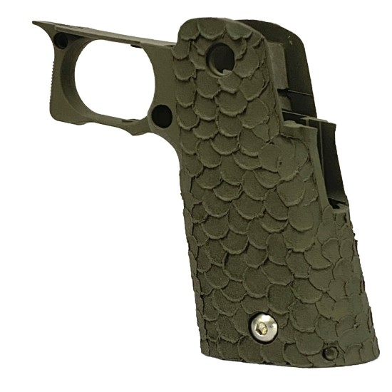 STI 2011 DVC Stipple VIP/DVC-C OD-Green Grip 120mm